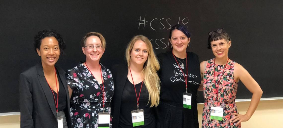 CSS 2018: Rewriting Women in Comics Studies