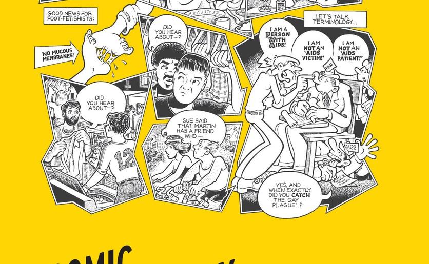 Article: Around 1987: Don Melia and HIV/AIDS Comics