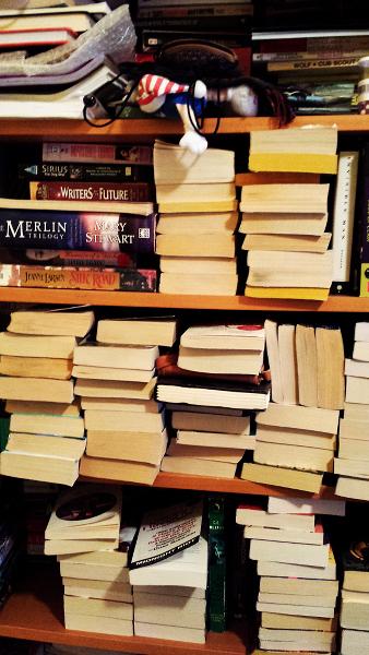 A Glimpse of My Bookshelf