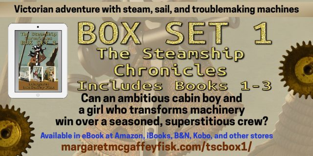 The Steamship Chronicles by Margaret McGaffey Fisk Box Set 1