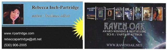 Raven Oak and Rebecca Inch-Partridge