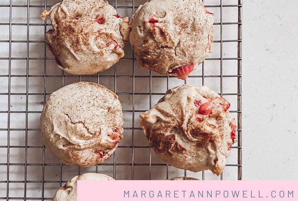 Gluten Free Strawberry Muffins!