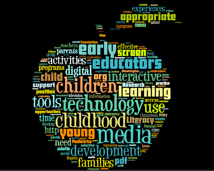 Technology and Interactive Media as Tools in Early Childhood