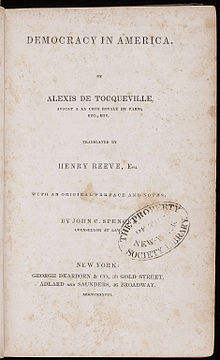 Is Tocqueville Still Relevant?