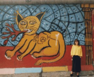 me at the Berlin Wall 2