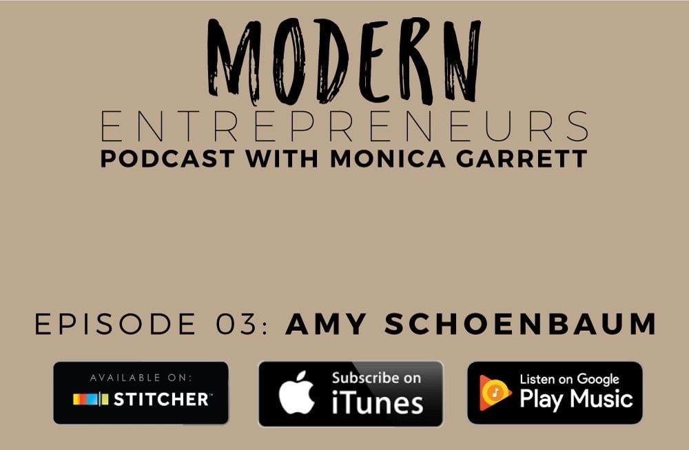 003: How Keeping a Small Business Can Fit Your Lifestyle / Interview with Amy Schoenbaum