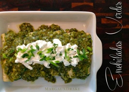 Enchiladas Verdes-Margaux Drake