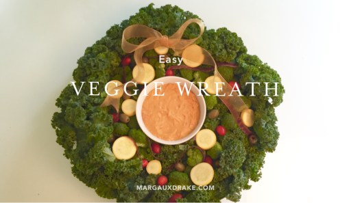 Veggie Wreath- Margaux Drake