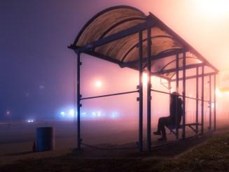 Foggy nightly Kiev