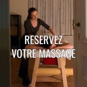 Réservez votre massage