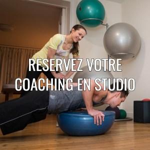 Réservez votre coaching en studio