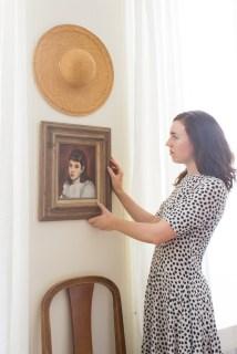 Amanda and portrait