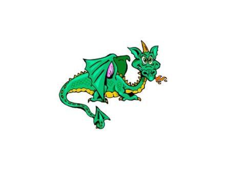 dragon facing right