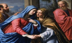 Visitation, Blessed Virgin Mary, Marge Fenelon