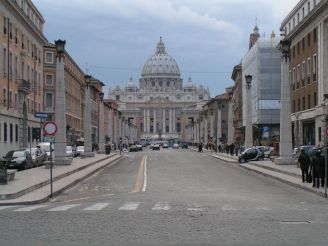St. Peter's Basilica, St. Peter's Square, Catholic Church, Curia, Pope Francis