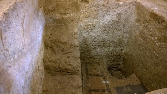 Excavation at the Church of St. Joseph