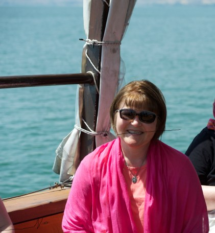 Sailing on the Sea of Galilee. Taken after the first ten seconds, of course.