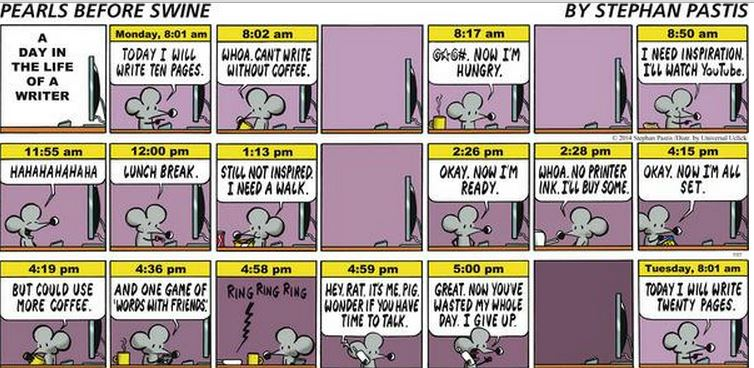 Day in the Life of a Writer