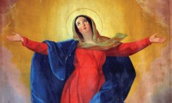 Immaculate Concption, Blessed Virgin Mary, Marge Fenelon,, Catholic church, Solemnity