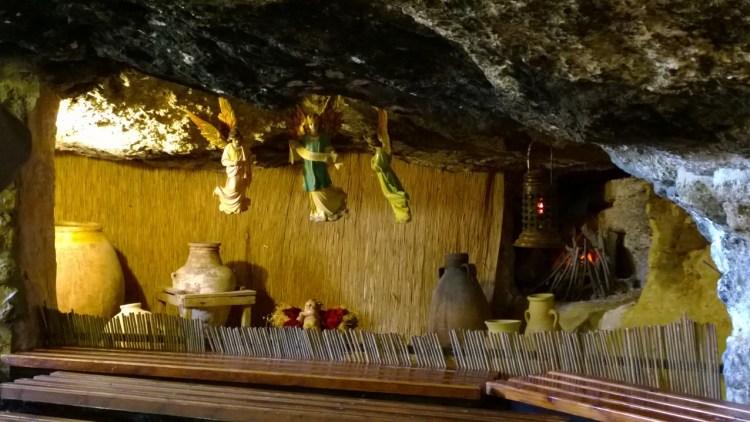 Cave of the Shepherds, Bethlehem by Marge Fenelon