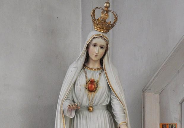 Our Lady of Fatima Statue Wikipedia
