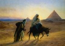 Flight to Egypt, Holy Family, Marge Fenelon