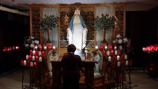 Marian Pilgrimage, Marge Fenelon, Our Lady of Good Help Shrine, Blessed Virgin Mary