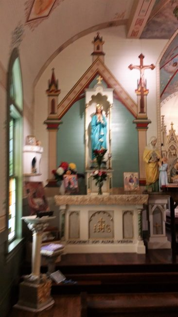 Marian Pilgrimage, Marge Fenelon, Painted Churches of Texas