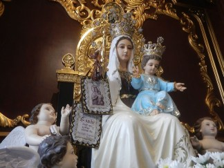 Our Lady of Mount Carmel's Promise to St. Simon Stock about the Brown Scapular – Marge Steinhage Fenelon