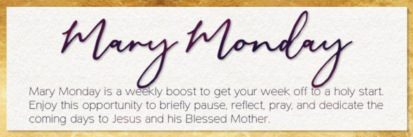 Mary Monday Banner