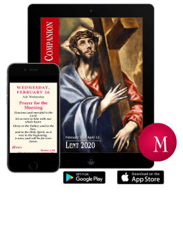 Win the Magnificat Lent Companion App for iOS or Android