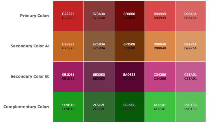 Color Scheme Designer | Color for Bead Artists