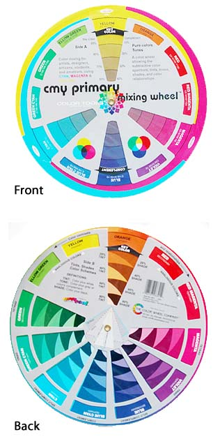C-M-Y Color Wheel (front & back)