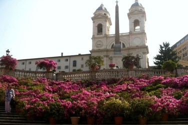 Spanish Steps in Rome Photo by Margie Miklas