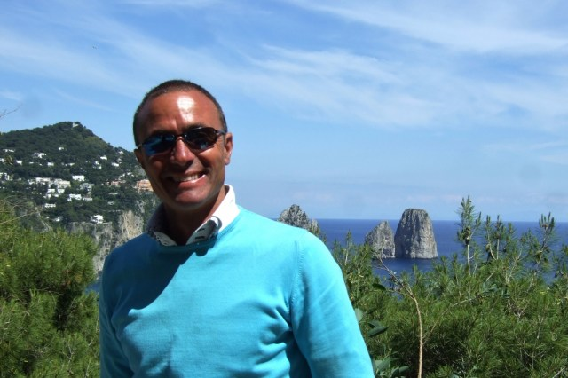 Capri Taxi Driver Alessandro