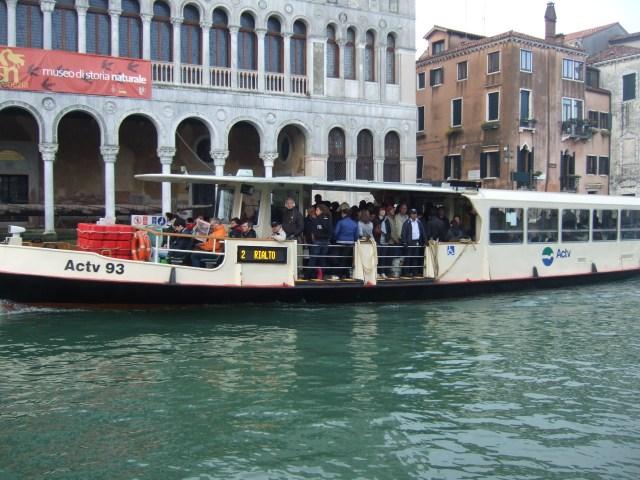 Vaporetto in Venice