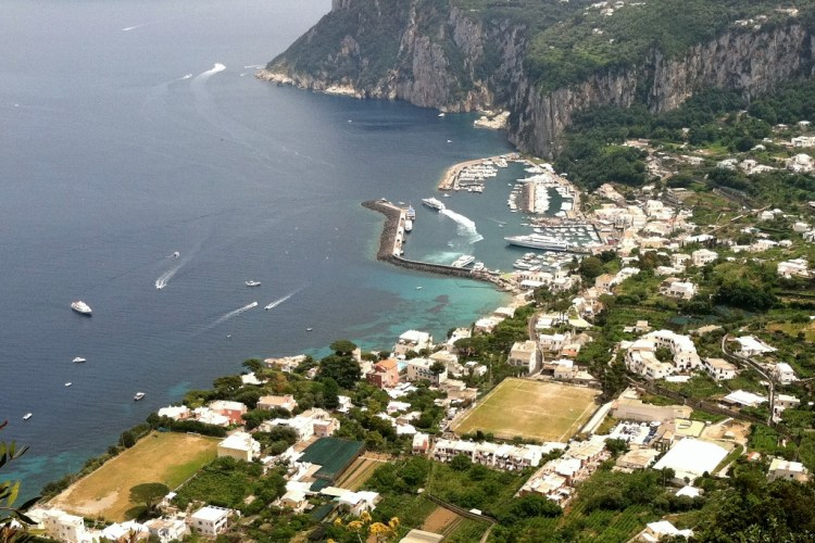 View from Anacapri Photo by Margie Miklas