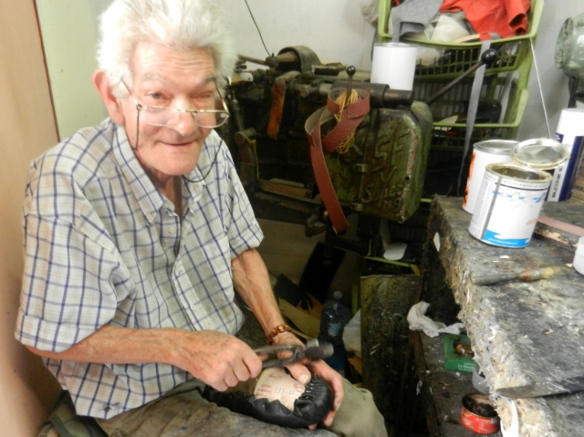 Shoemaker in Palermo