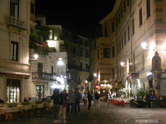 Amalfi at night Photo by Margie Miklas