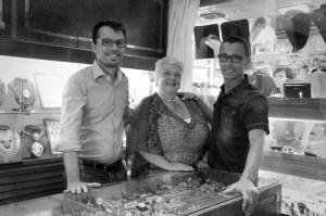 Marco, Gabriella, and Alessio Jovon - Photo by Marco Jovon