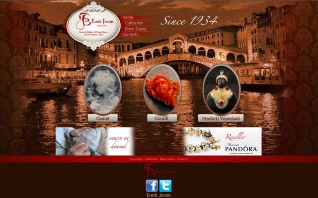 Eredi Jovon Web site