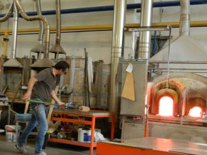 Glassmakers in Murano Photo by Margie Miklas