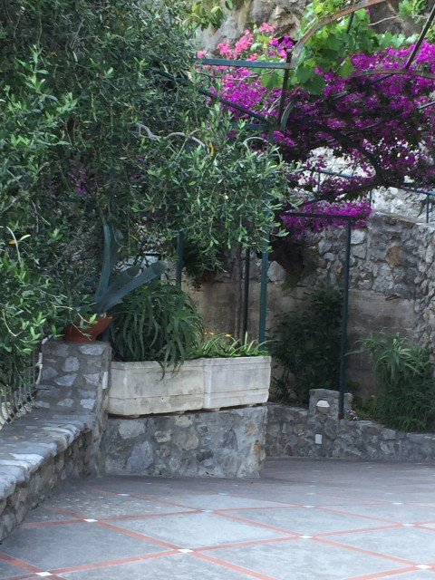 Garden at Hotel Pupetto-PHOTO by Margie Miklas