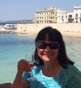 Margie Miklas in Gallipoli, Puglia