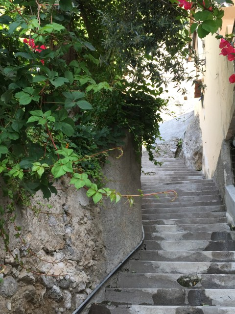 Stairway in Positano - Photo by Margie Miklas
