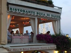 Positano Buca di Bacco Photo by Margie Miklas