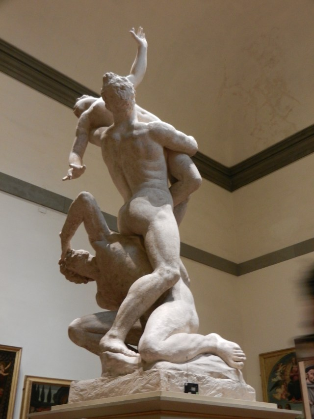 Rape of the Sabine Scupture Photo by Margie Miklas
