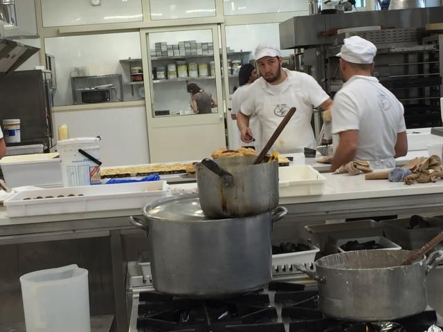 Bakery workers in Italy - Photo by Margie Miklas