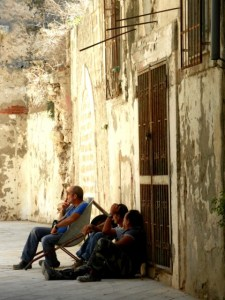 """""""Il dolce far niente"""" in Siracusa Photo by Margie Miklas"""