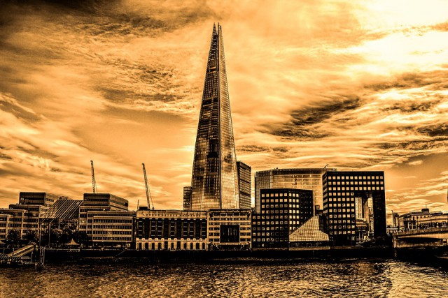 London Shard Photo by Ana Gic